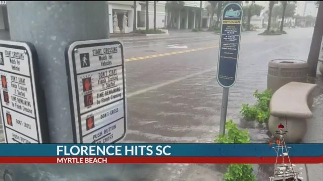 7News Live on the Coast: Florence hits South Carolina