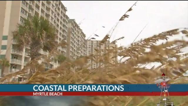 7News on the Coast: Conditions worsen in Myrtle Beach
