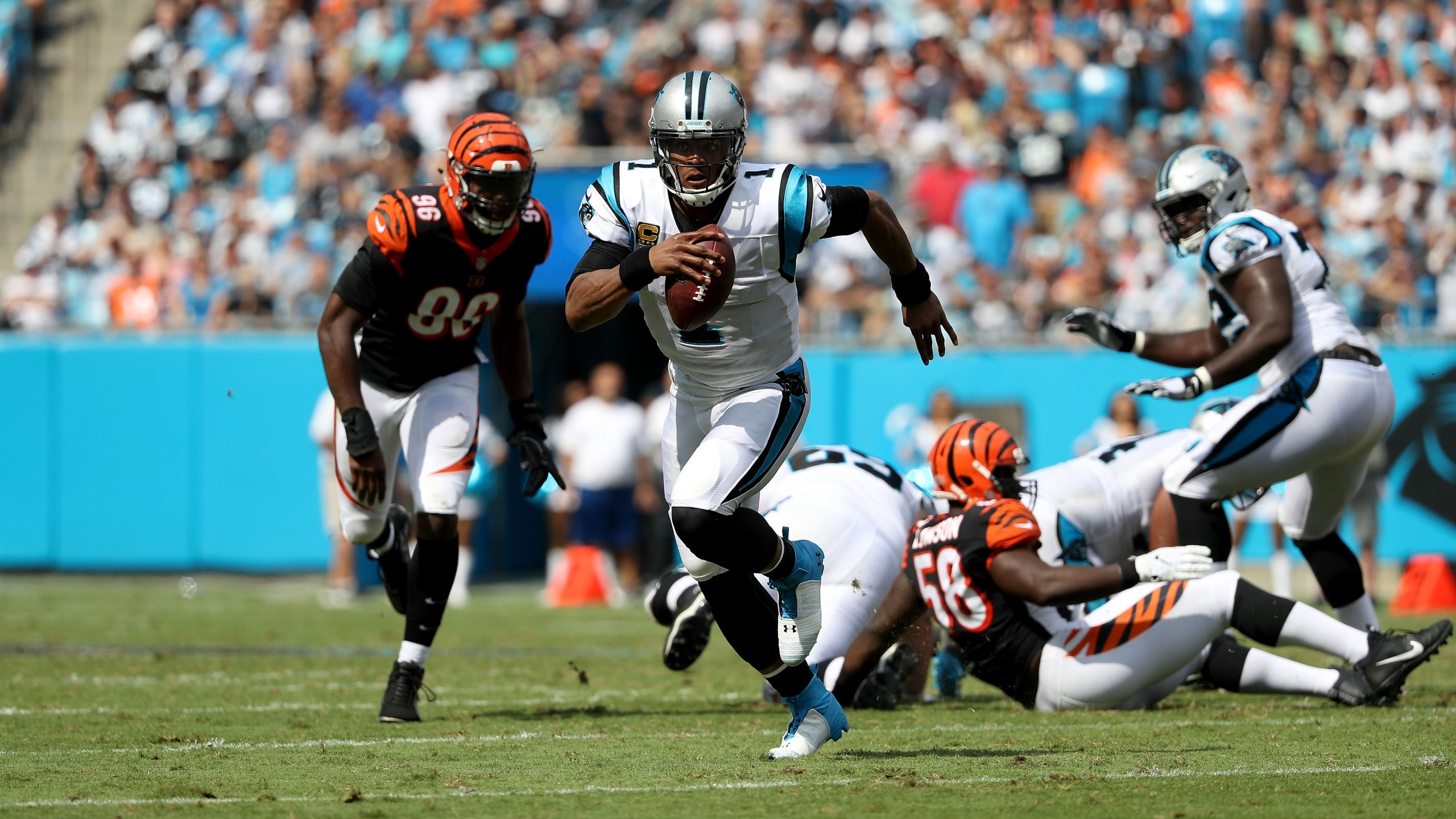 Carolina Panthers Cincinnati Bengals 1537734218291