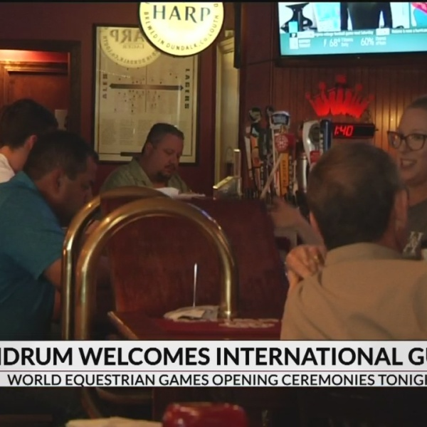 Landrum welcomes international guests for world equestrian games