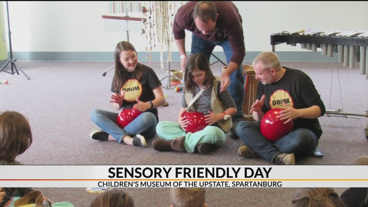Sensory Friendly Days at Children's Museum of the Upstate