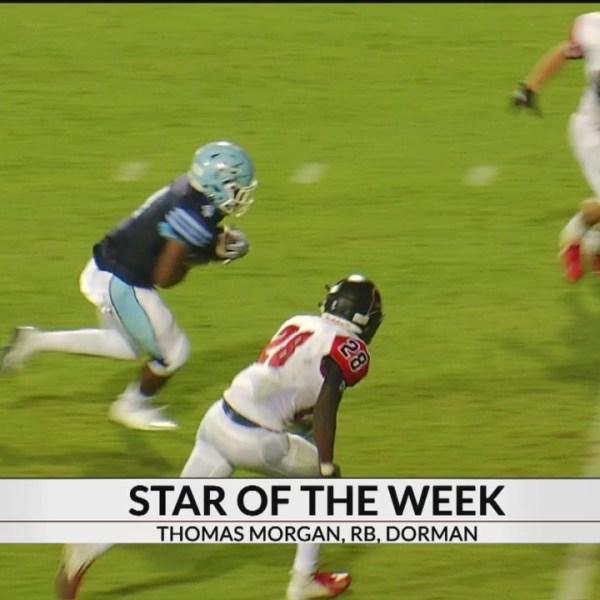 Star Of The Week: Thomas Morgan, RB, Dorman