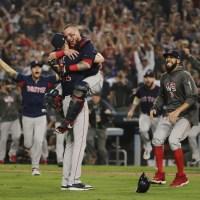 APTOPIX World Series Red Sox Dodgers Baseball_1540783377651