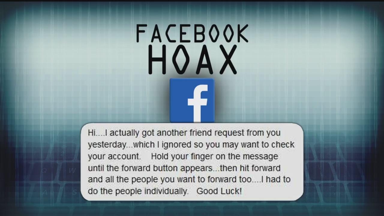 Facebook cloning hoax spreads