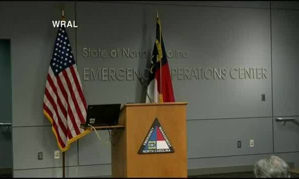 TS Michael update with NC Gov. Cooper