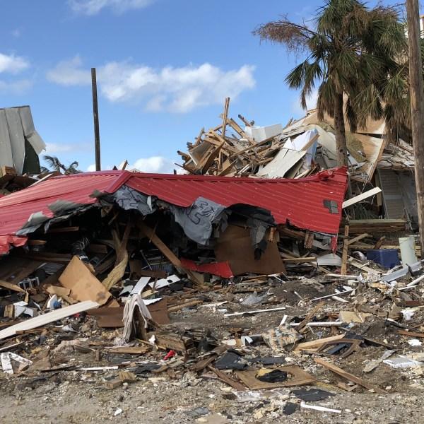 Panama City hurricane damage