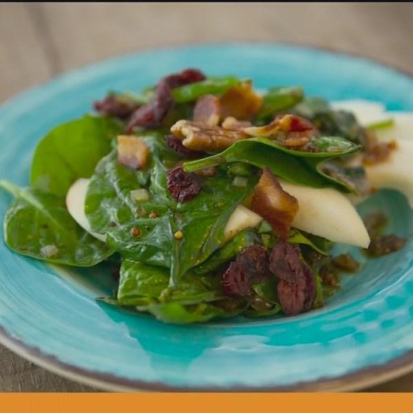 Chef's Kitchen - Warm Spinach Salad