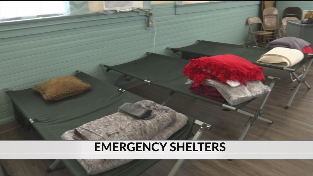 Cold weather shelters opening in the Upstate