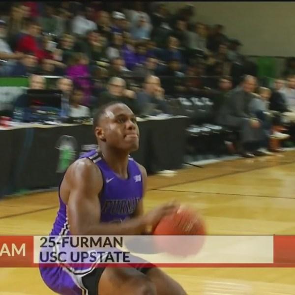 Furman Wins at USC Upstate, 74-60