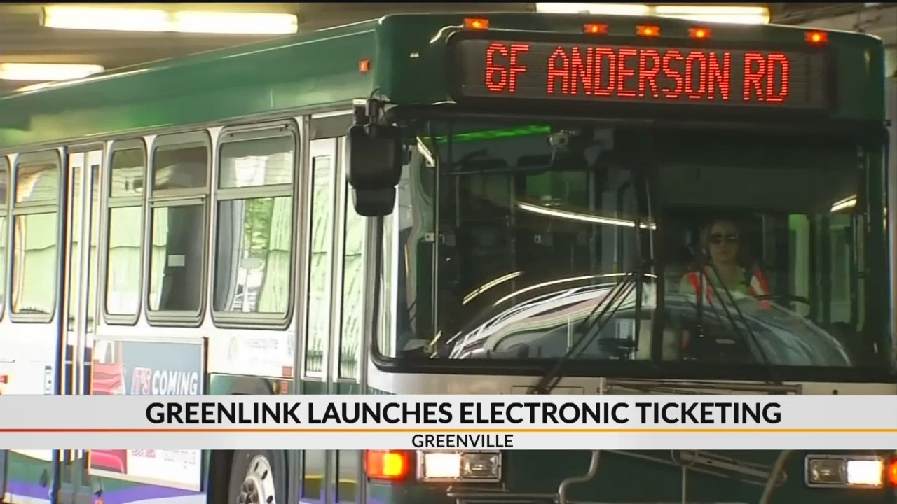 Greenlink launches electronic ticketing for bus riders
