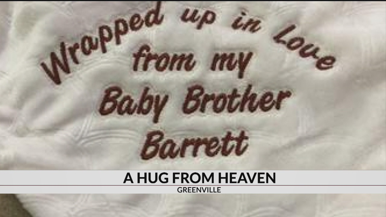 for Hug Mother, son embroider Heaven: from A blankets