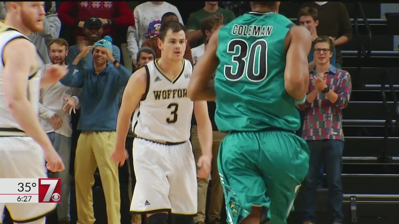 Magee Eclipses 2,000 Point Mark, Wofford Defeats Coastal Carolina, 82-71