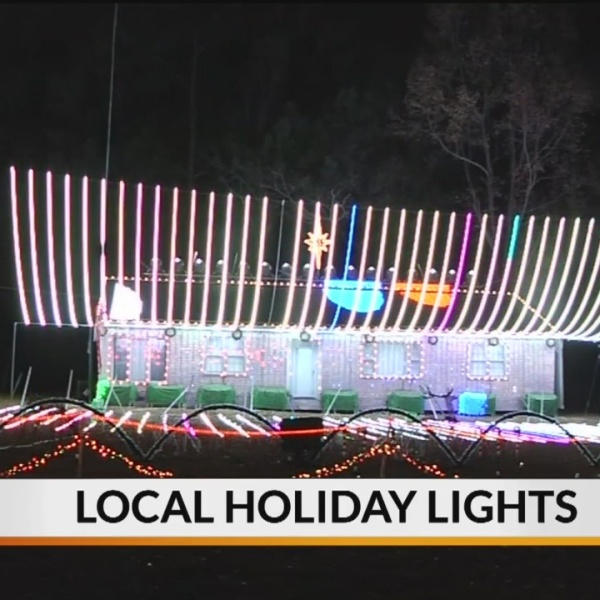 Top 7 Upstate Christmas Light Displays