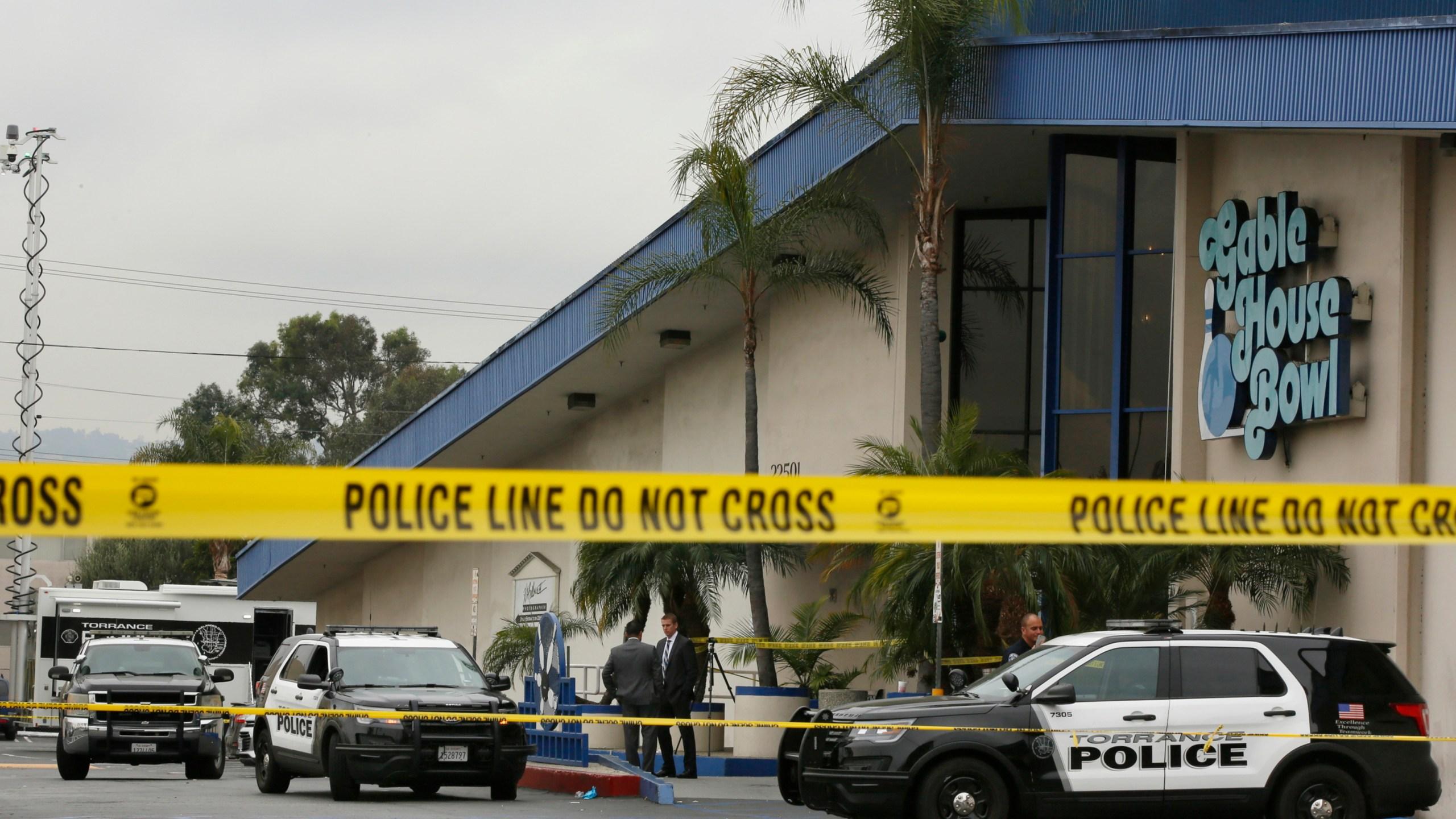 California Shooting Torrance bowling alley Gable House Bowl 1546729659017