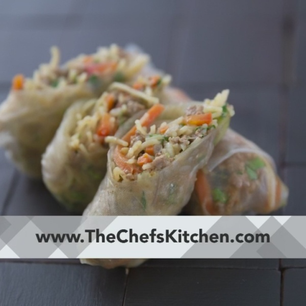 Chef's Kitchen - Fresh Lamb Spring Rolls