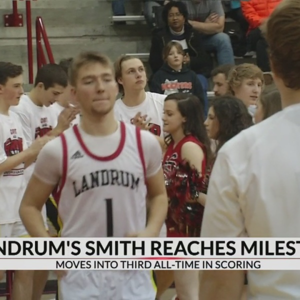 Landrum's Smith Become Third All-Time Leading Scorer In Palmetto State