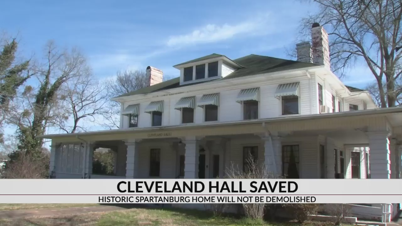 Cleveland Hall Saved