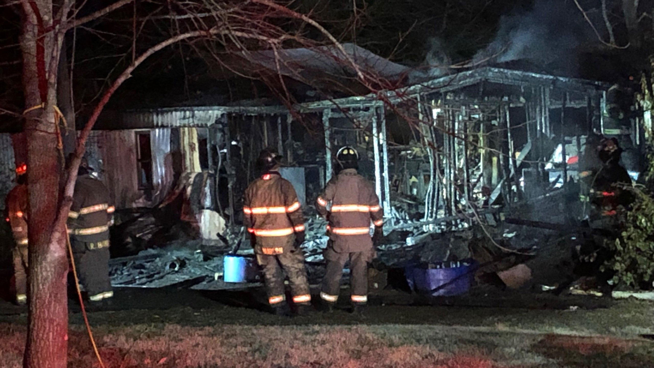 1 flown to burn center after mobile home fire on Martin Rd ...