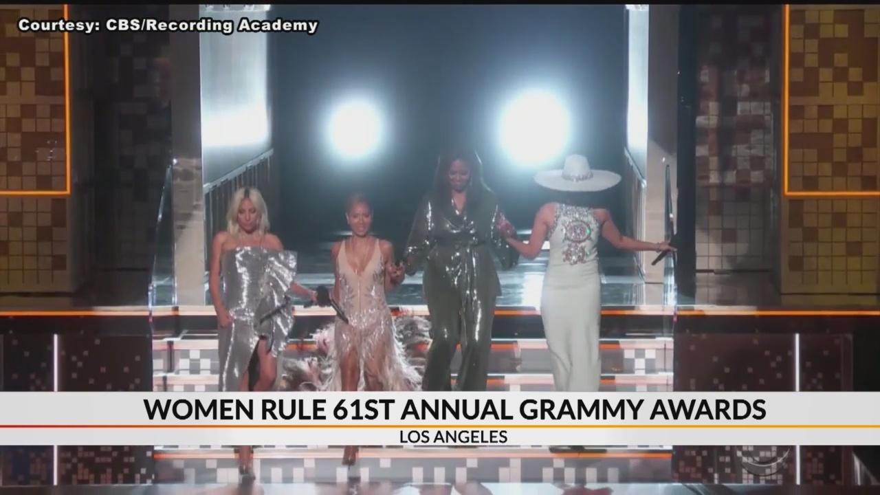 Women rule 61st annual Grammys