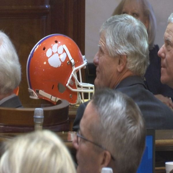 dabo swinney at the state house
