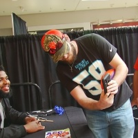 Clemson Players Meet Fans & Sign Autographs at Haywood Mall