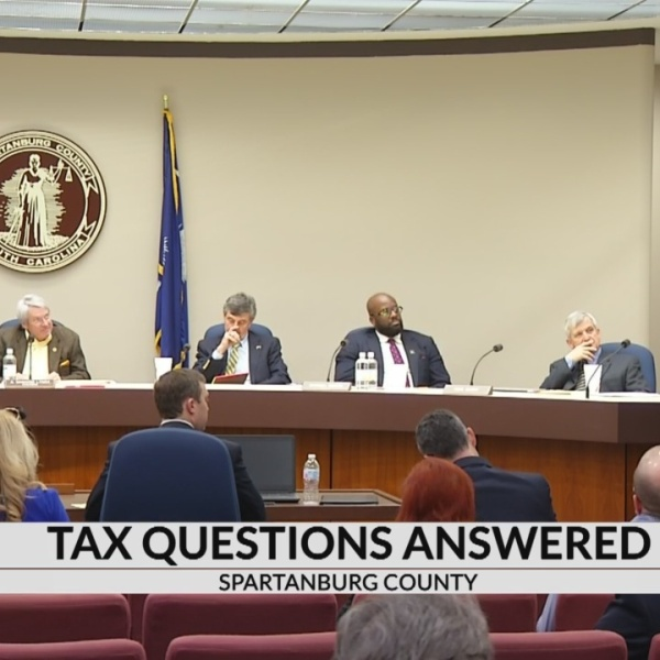 Special meeting on taxation in Spartanburg County