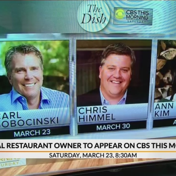 Table 301's President to appear on CBS This Morning