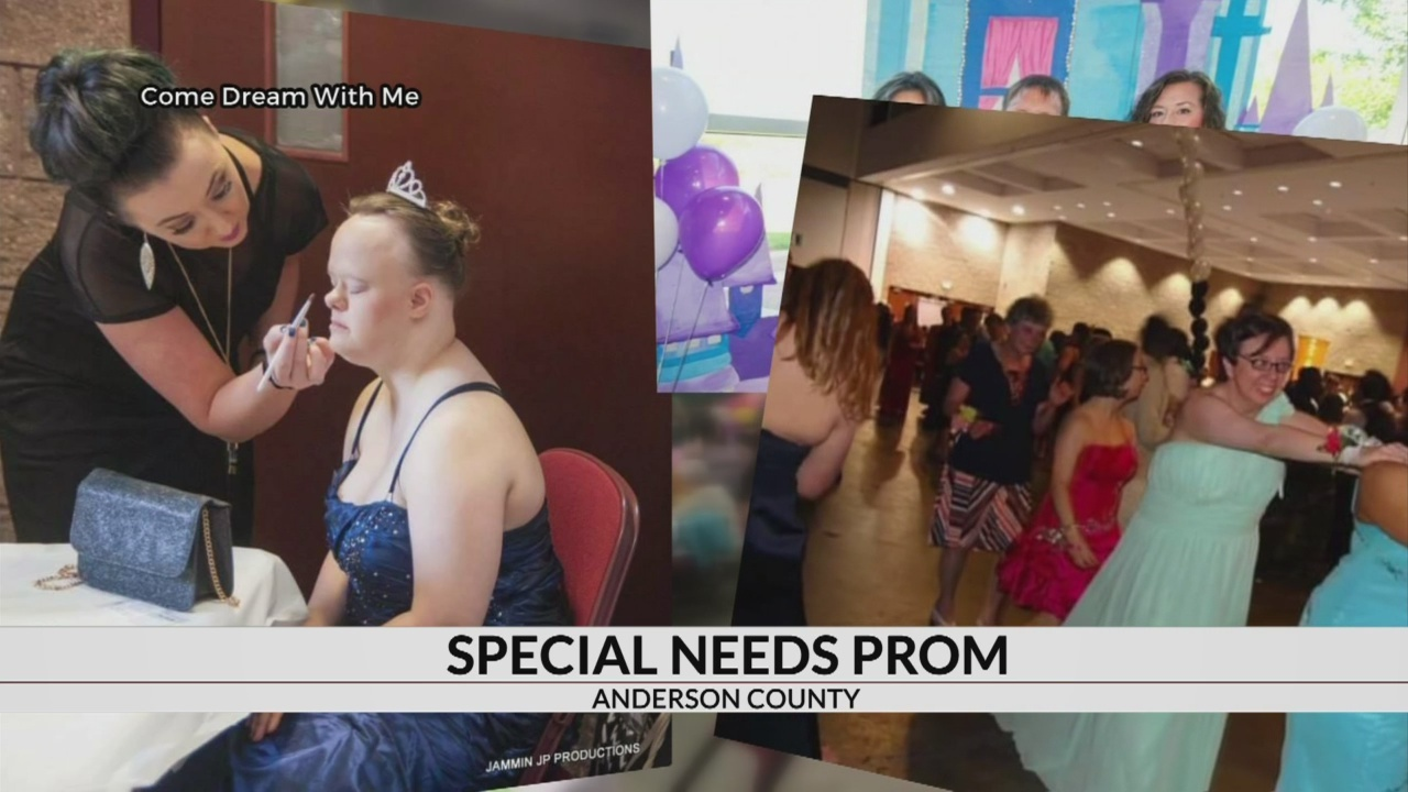 "Volunteers prepare for Sunday's ""Come Dream with Me"" prom in Anderson"