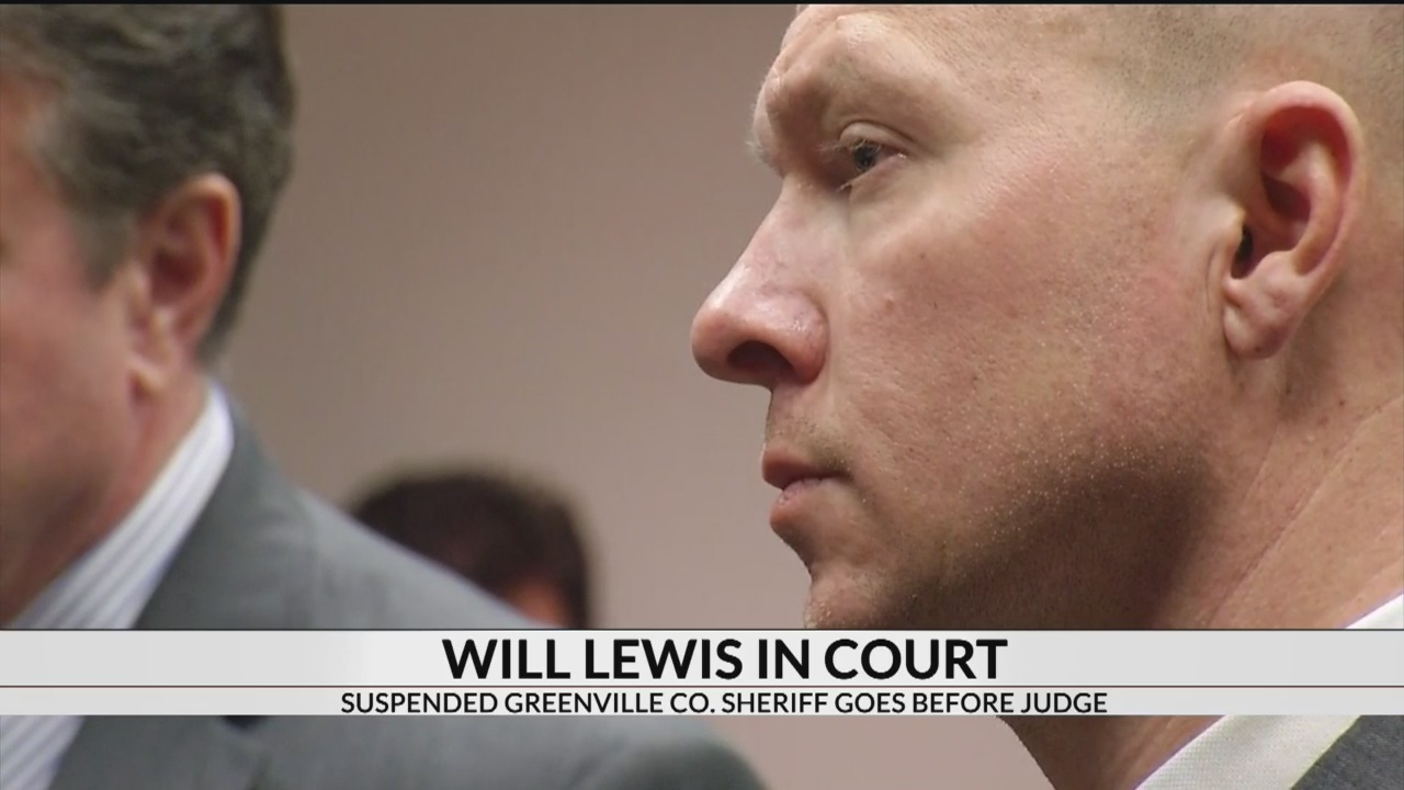 Suspended Greenville Co  Sheriff Will Lewis faces 13 new