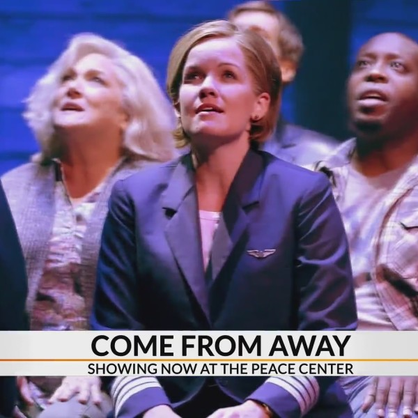 Behind the scenes of Broadway's Come From Away