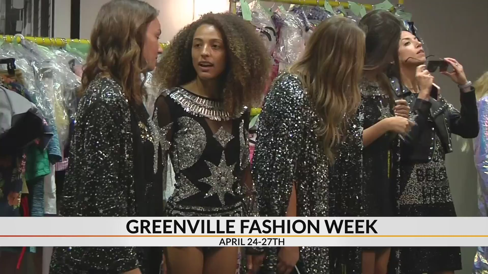 Behind the scenes with celebrity fashion designers at Greenville Fashion Week