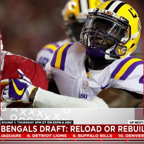 Bengals' miracle scenario: Devin White falls to Cincinnati at No. 11