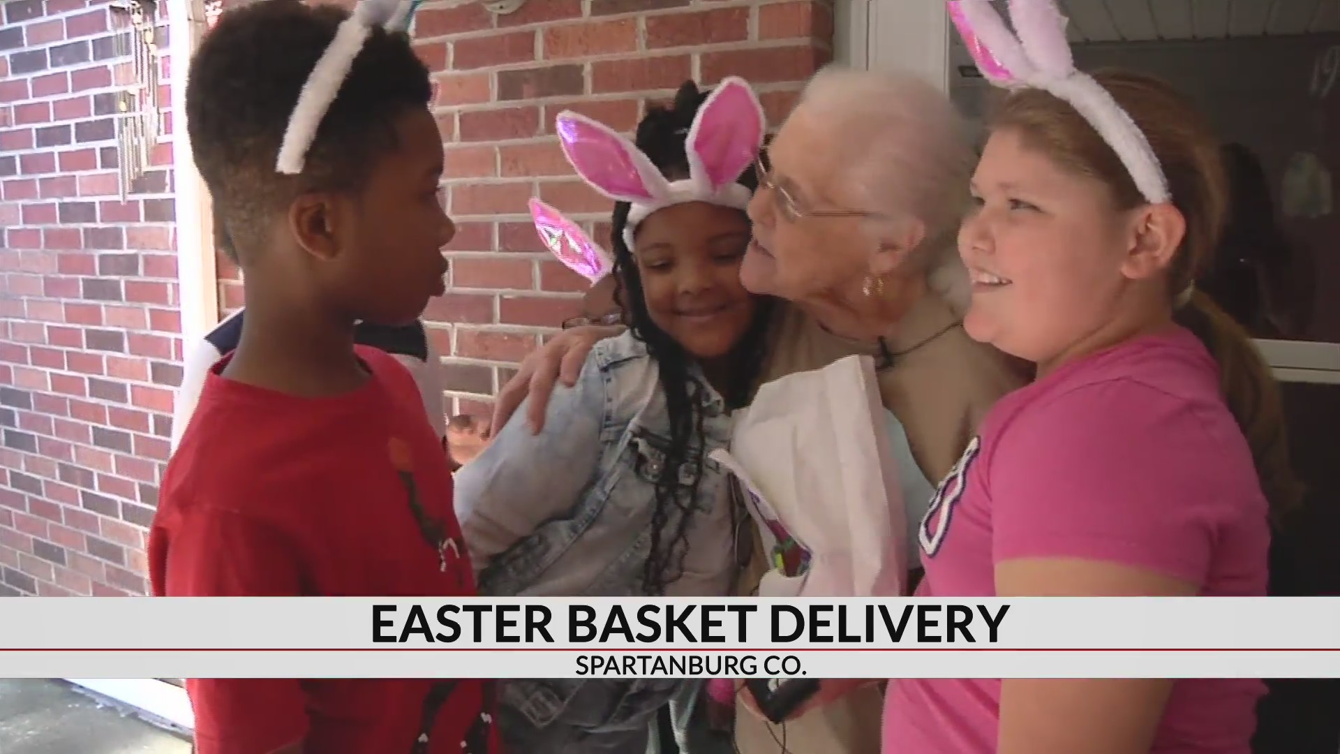 Cowpens elementary students surprise seniors with Easter baskets