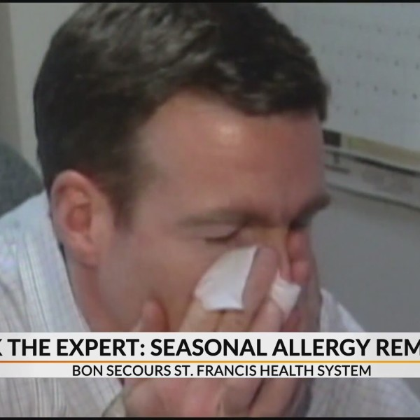 Foods and practices to help curb seasonal allergies
