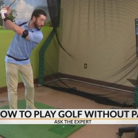 How to play golf like a pro without pain