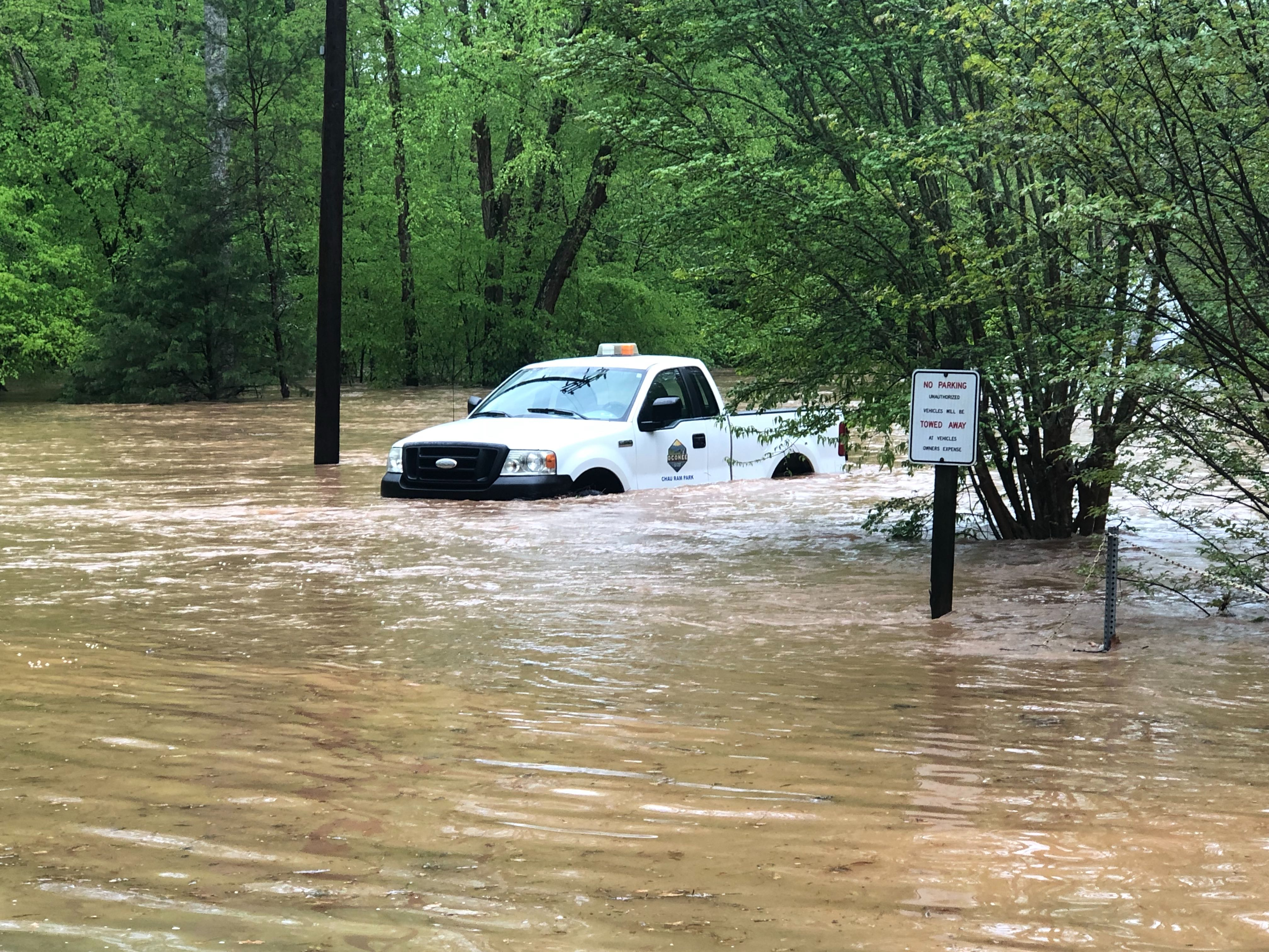 Flooding, storm damage reported throughout Upstate
