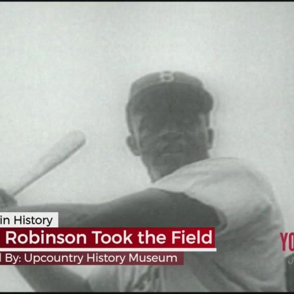 This Week In History - Jackie Robinson Took the Field