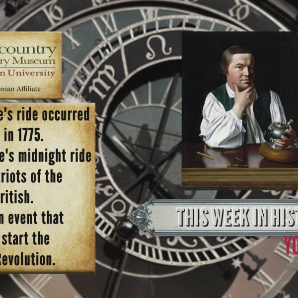 This Week in History - Paul Revere's Ride