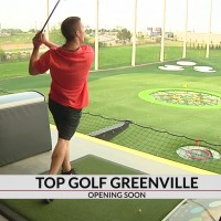 Topgolf Greenville close to opening