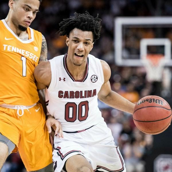 Tennessee South Carolina Lawson A.J. Lawson Basketball_1559089391353