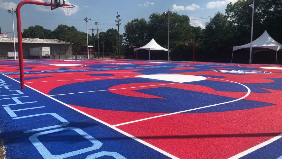 Free Community Event Saturday Unveils Revived Basketball Courts In Spartanburg