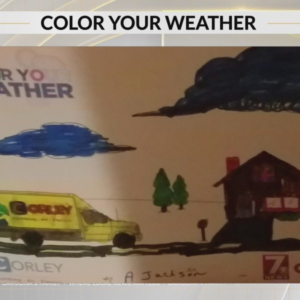 Color Your Weather: Aubrey from Landrum