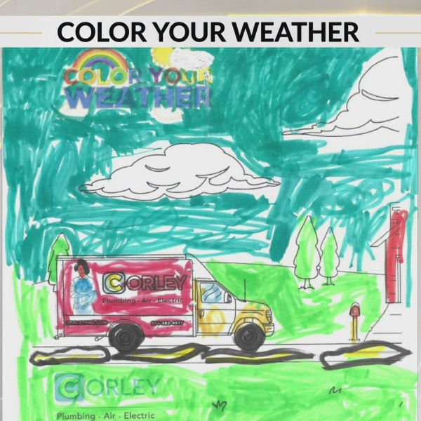 Color Your Weather: Emma Grace from Jonesville