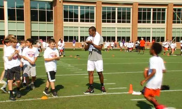 Deshaun Watson Hosts Football Camp at Clemson Practice Facility