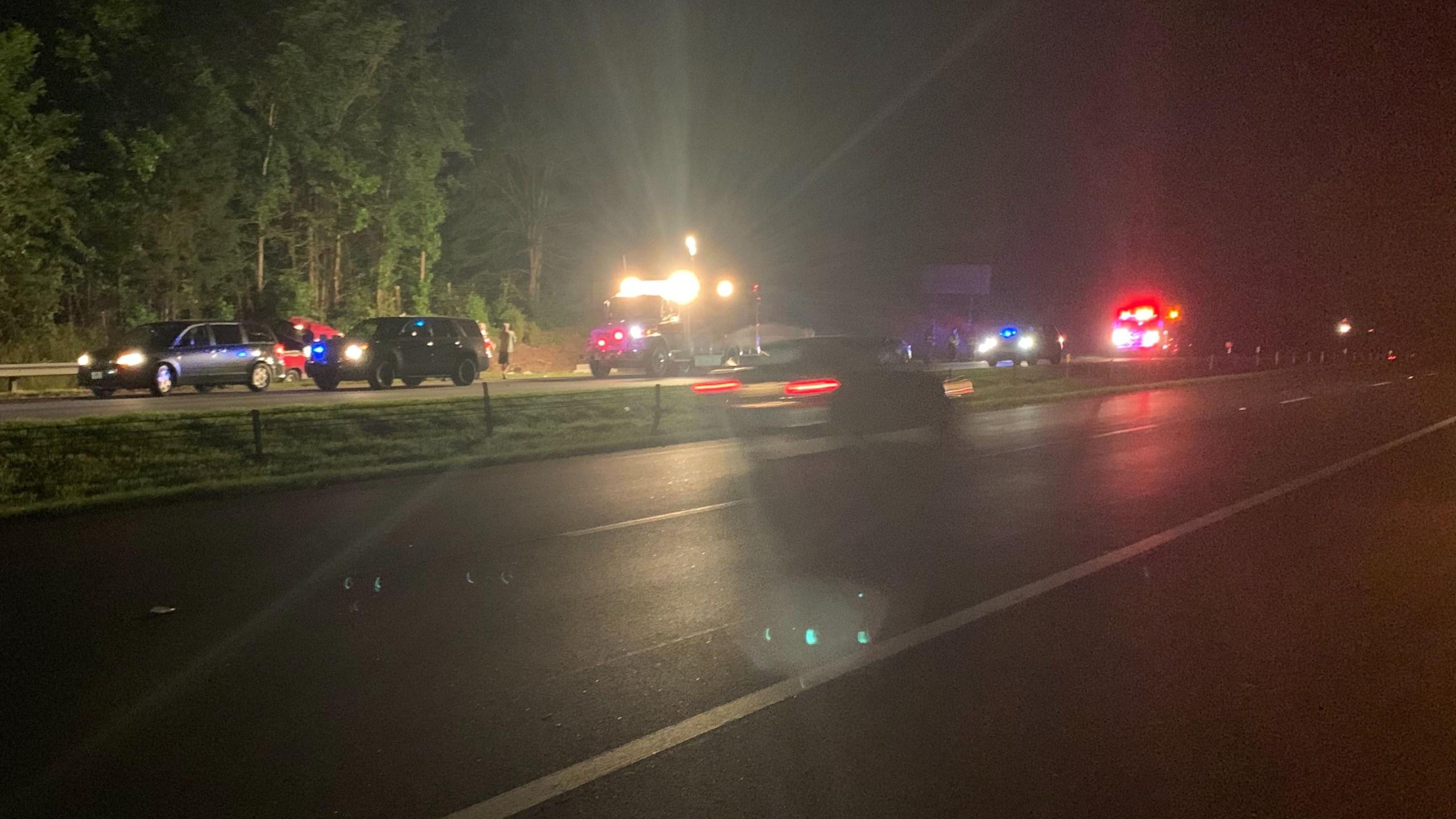 Man killed in crash on I-26 in Spartanburg Co