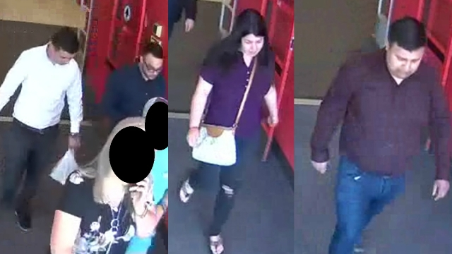 Simpsonville Police need help identifying 4 suspects following car break-in