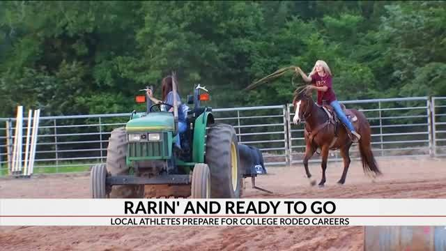 Two Area Athletes Prepare For College Rodeo Careers