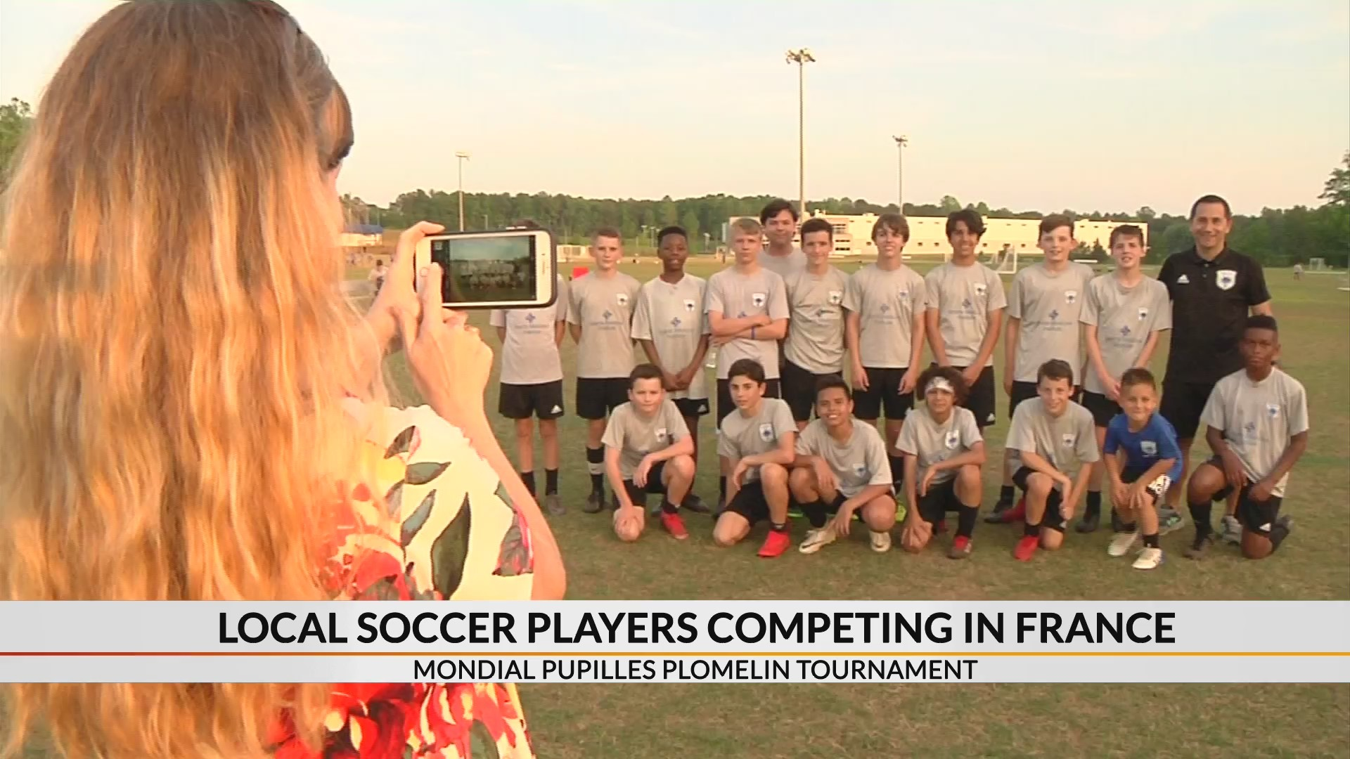 Upstate boys competing in international soccer tournament