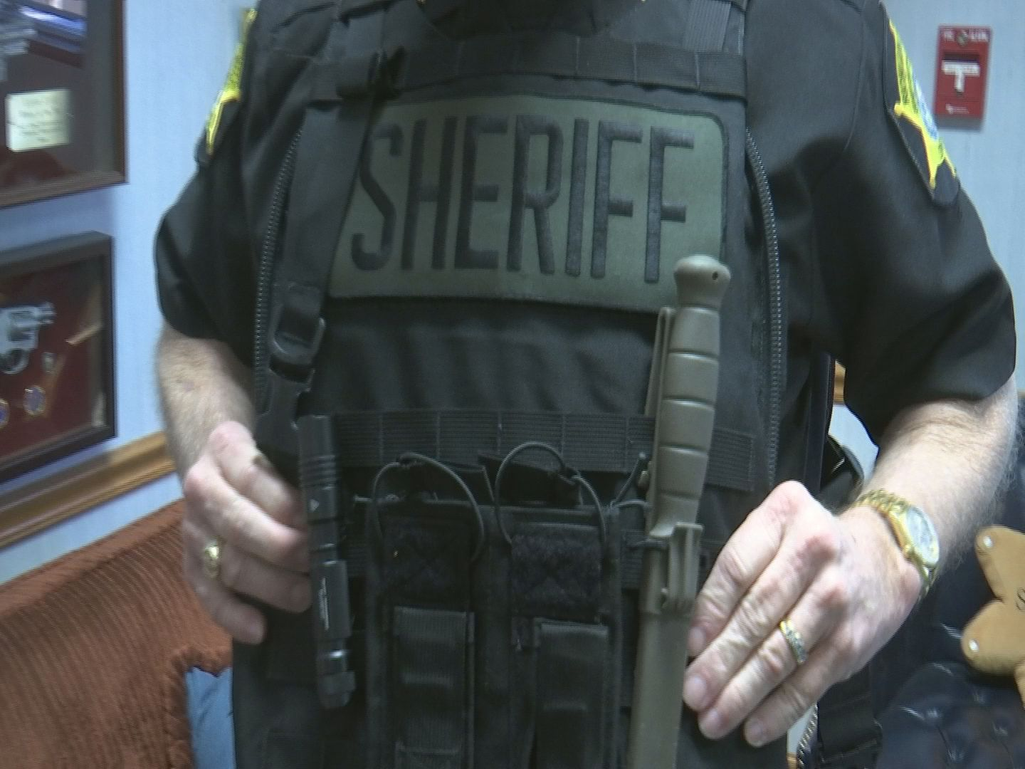 Active shooter vests