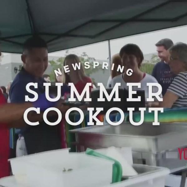 Summer Cookouts at NewSpring Church